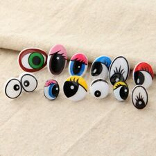 12 Sizes Plastic Safety Cartoon Eyes For Toy Teddy Bear Doll Puppet Washers Gift