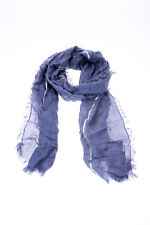 Gucci Scarf Scarves Foulard % Silk Made In Italy Woman Blues 2810994G664-4867