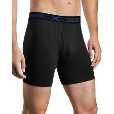 Hanes Mens Boxer Briefs with Comfort Flex and Waistband Assorted 3-Pack-UTB1B3