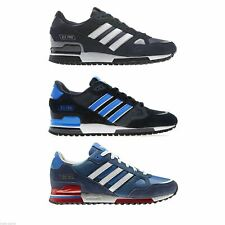ADIDAS ORIGINALS ZX 750 MENS RUNNING TRAINERS BLUE BLACK NAVY SNEAKERS SHOES NEW