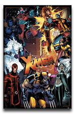 Marvel X-Men Characters Poster New - Maxi Size 36 x 24 Inch