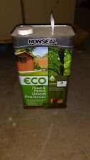 RONSEAL WOOD/SHED/FENCE PRESERVER