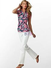 88.00 NWT CLASSIC HTF LILLY PULITZER TROPHY POLO BRIGHT NAVY CHERRY PICKER XS