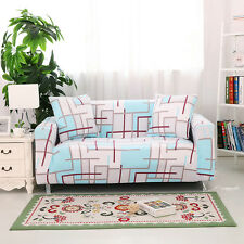 Furniture Rural Sofa Stretch 1-4 Seater Mat Cover Protector Couch Slipcover G