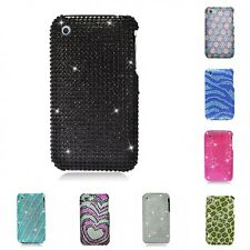 For Apple iPhone 3G / 3G S Case Diamond Bling Luxury Fashion Cute Hard Cover