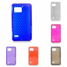 For Motorola Droid Bionic Case TPU Rubber Slim Thin Phone Flexible Durable Cover