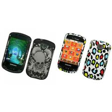 For Samsung Brightside U380 Hard Phone Case Design Rubberized Snap-On Cover
