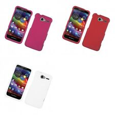 For Motorola Electrify M XT901 Hard Snap-On Rubberized Phone Skin Case Cover