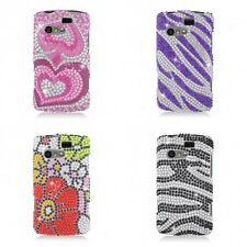 For Kyocera Rise Case Diamond Bling Luxury Fashion Cute Hard Cover