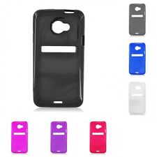 For HTC EVO 4G LTE Case TPU Rubber Slim Thin Phone Flexible Durable Cover