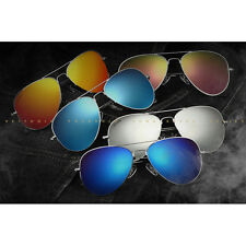 New Polarized Sunglasses Men/Women Colorful Reflective Coating Lens Eyewear