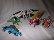 POWER RANGERS CHOOSE YOUR ZORD FIGURE COMPLETE YOUR  DINO  MEGAZORD DINOSAUR