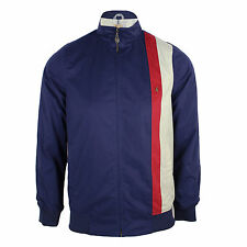 GABICCI VINTAGE SAMSON MENS NAVY RETRO STRIPE JACKET