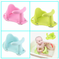 Baby Bath Tub Seat Infant Child Toddler Kids Anti Slip Safety Chair Support HT