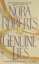 Genuine Lies by Nora Roberts (1991, Paperback, Reprint)