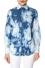 Dsquared Shirt % MADE IN ITALY Woman Denim S72DL0483S30341470-
