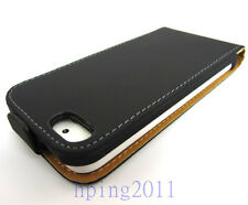 New Leather Pouch Flip Case Cover Protector For apple iPhone 5S 5G