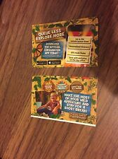 2 x Chessington World Of Adventures Entry Tickets Sunday 23rd July