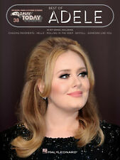 E-Z Play Today Volume 38: Best Of Adele Melody Line, Lyrics & Chords Sheet Music