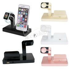 iPhone Apple Watch iWatch Stand Charging Dock Station Charger Holder Mount Stand