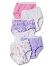 Hanes TAGLESS Toddler Girls' Cotton Briefs 6-Pack style TP30AS