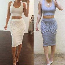 New Sexy Womens Ladys Bandage Bodycon Evening Party Cocktail Club Dress + Shirt