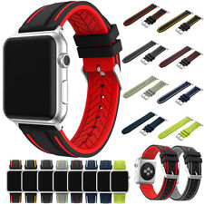 For Apple Watch Series 1/2 Replacement Sport Silicone Band Bracelet Strap 38/42