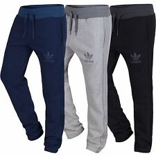 adidas ORIGINALS SPO SWEAT PANTS MENS S M L XL TRACK JOGGERS NAVY GREY BLACK NEW