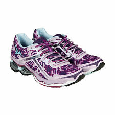 Mizuno Wave Creation 15 Womens Purple Synthetic Athletic Running Shoes