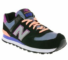 New New Balance 574 Shoes Trainers Black WL574TPA trainers SALE