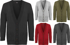 Womens Plus Cable Knit Cardigan Ladies Button Pocket Long Sleeve Top 16-22
