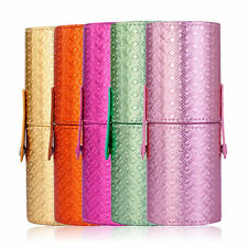 Portable Makeup Brushes Holder Tube Cosmetic Bag Storage Holder Container HT