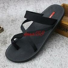 Summer Mens roman sport sandals slipper thongs toe flat beach shoes flip flop