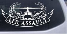 US Army Air Assault With Banner Car or Truck Window Laptop Decal Sticker