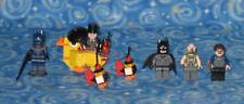 Lego Batman DC Super Heroes Lot of 5 Minifigures with Penguin Bane and More