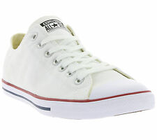 NEW Converse Chuck Taylor All Star Lean Ox Shoes Trainers White 142270C
