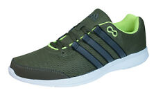 adidas Lite Runner Mens Running Trainers / Sneakers - Olive