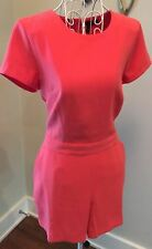 Banana Republic-Womens Romper-NEW-Silky Jumper Coral Pink-Fully Lined-MSRP-$79