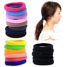 50Pcs Womens Girl Hair Band Ties Elastic Rope Ring Hairband Ponytail Holder