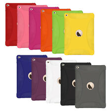 Amzer Silicone Skin Jelly Case Back Shockproof Cover For Apple iPad Air 2 2014
