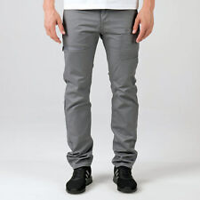 Mens Eto Em574 Tapered Fit Jeans In Grey-Button Fly-Belt Loops To Waist-Multiple