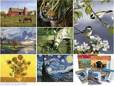 17 DESIGNS REEVES ADVANCED ARTIST COLLECTION PAINT BY NUMBERS DELUXE PAINTINGS