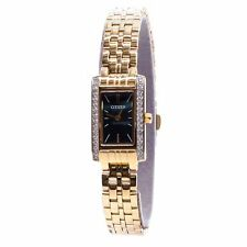 Citizen QUARTZ Ladies Analog Watch Casual Gold Band EZ6352-58E