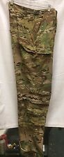 USGI MULTICAM FLAME RESISTANT FR AIRCREW COMBAT TROUSER VAR SIZES USED
