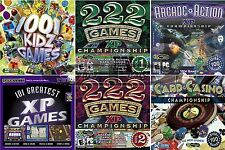 Game Compilations Collections PC Windows XP Vista 7 8 10 Sealed New