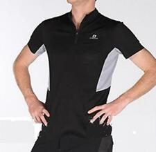 Cycling MTB Bike Jersey short sleeve Sport  Black & Grey Men Unisex