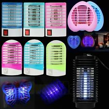 2017 Electric LED Mosquito Fly Bug Insect Trap Zapper Killer Night Lamp Light US