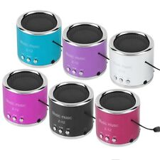 Mini Portable Wireless Speaker Support TF Card For Phone Tablet PC HT