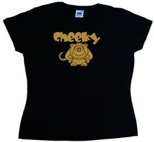 Cheeky Monkey Funny Ladies T-Shirt