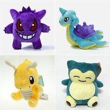 Pokemon Plush Soft Toys Stuffed Doll Gengar Figure Kids Teddy Gifts Collection